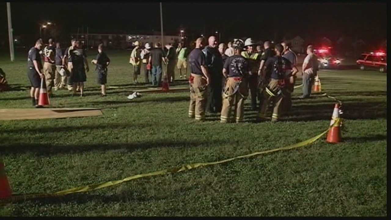 A frantic rescue effort took place Thursday evening after a young girl fell into an old well at a park in west Louisville.