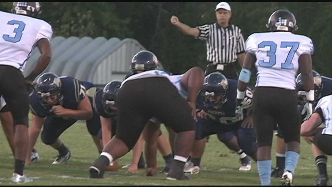 Fred Cowgill, Derek Forrest and Natalie Grise have highlights of high school football action from Friday the 13th.