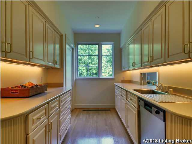 There are kitchen facilities on every floor of the home.