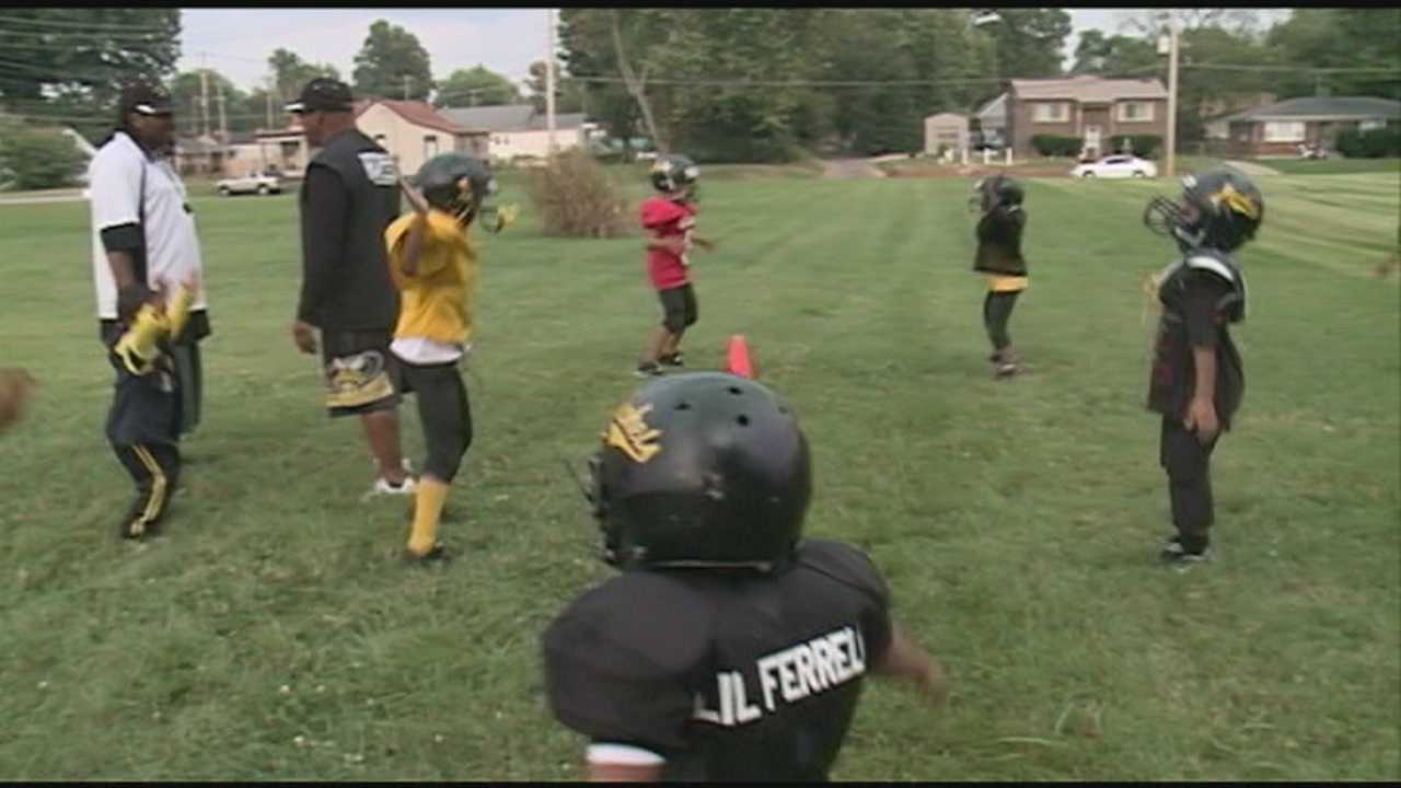 A youth football team is now looking for a new place to practice after narrowly escaping a tragedy at their old field.