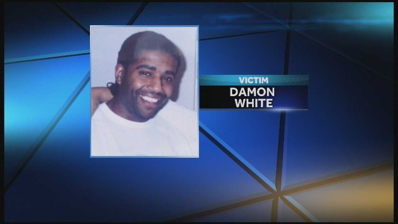 The coroner has identified a man found shot to death Wednesday night as 42-year-old Damon White.