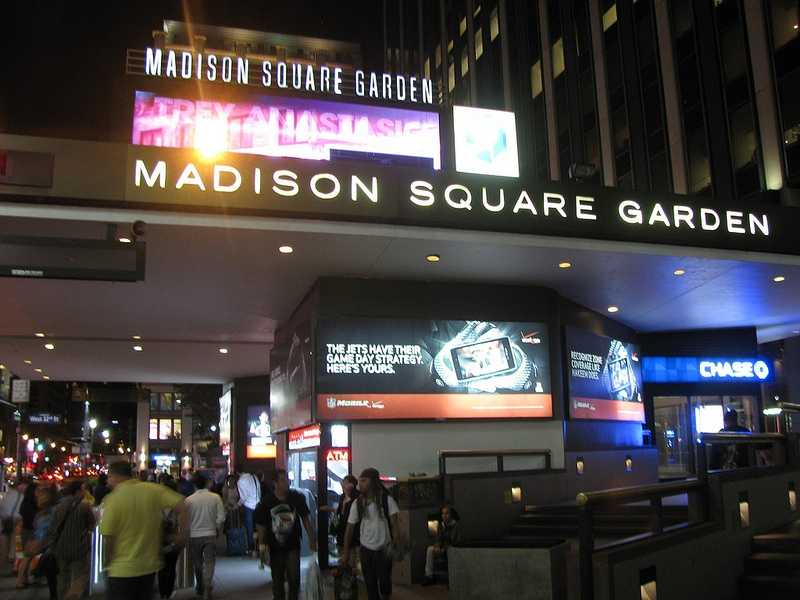 1. Madison Square Garden, New York