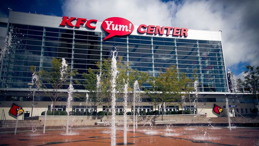 7. KFC Yum! Center, Louisville, Ky.