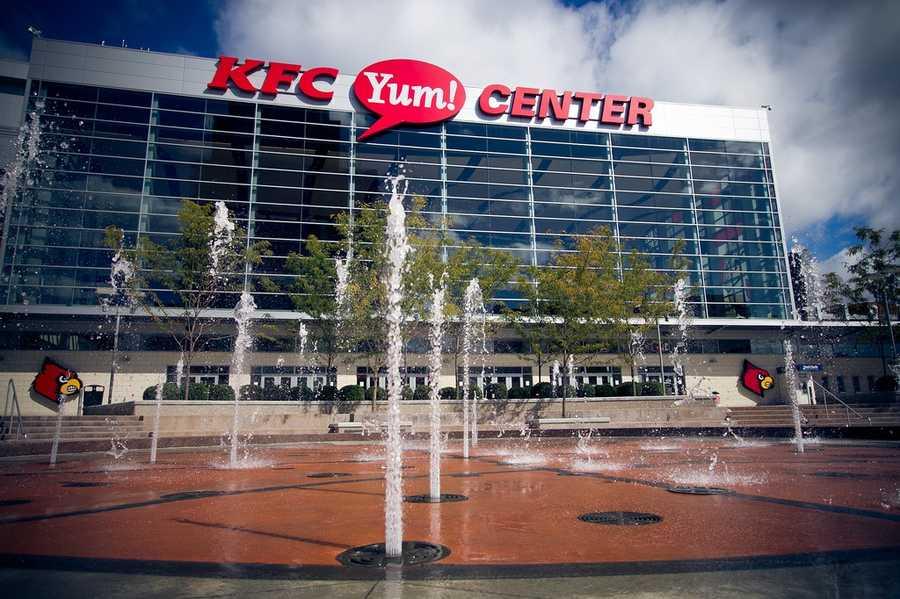 7. KFC Yum! Center, Louisville, Ky.