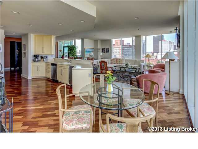 Not to mention the kitchen is also quite expansive and features a charming breakfast nook by the window.