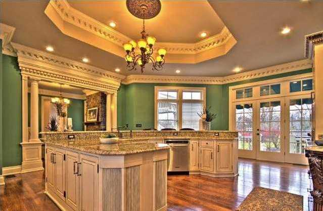 Only top of the line appliances made their way to this kitchen!