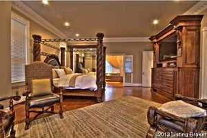 Extremely generous master suite.