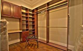 Unbelievable master closet.