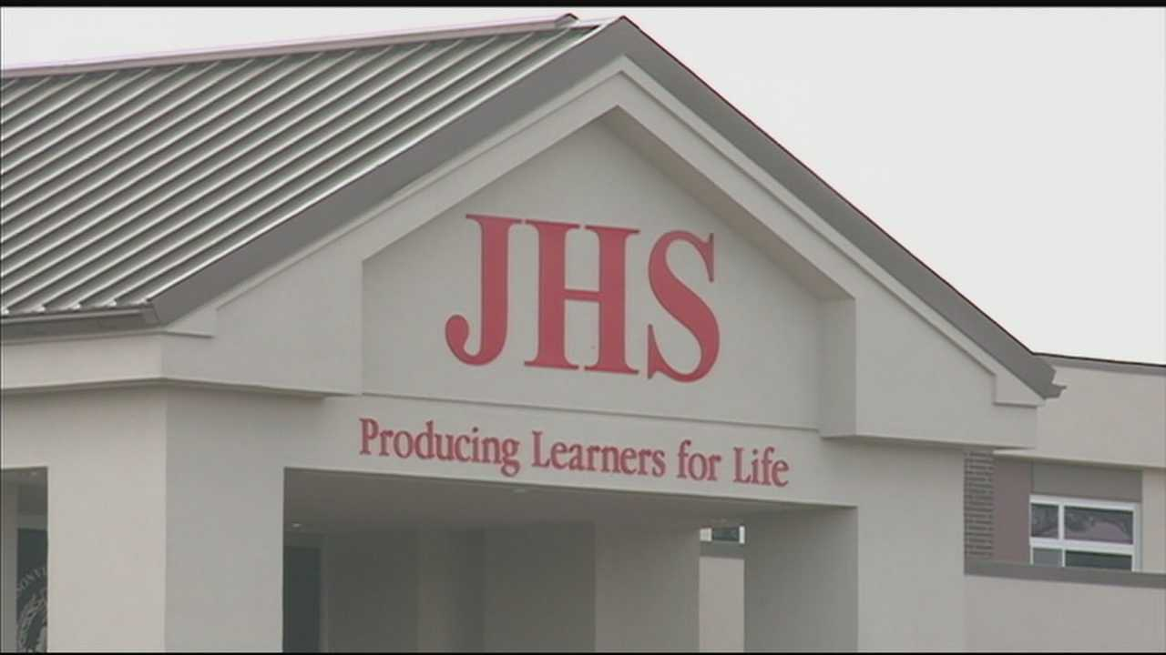 A band volunteer at Jeffersonville High School is accused of having an inappropriate relationship with a student.