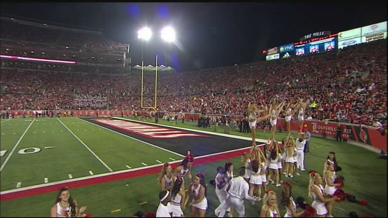 Louisville defeated Rutgers 24-10 Thursday night at Papa John's Cardinal Stadium.