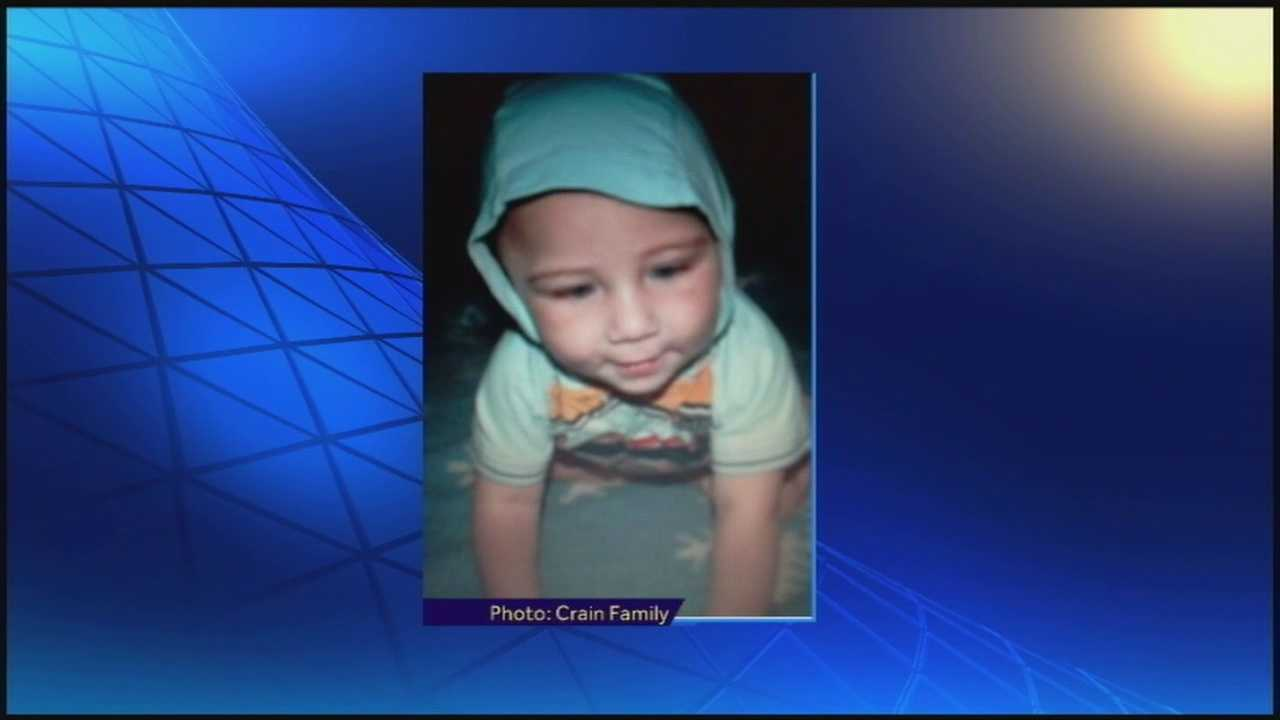 A vigil was held Friday night for an infant who was beaten to death.