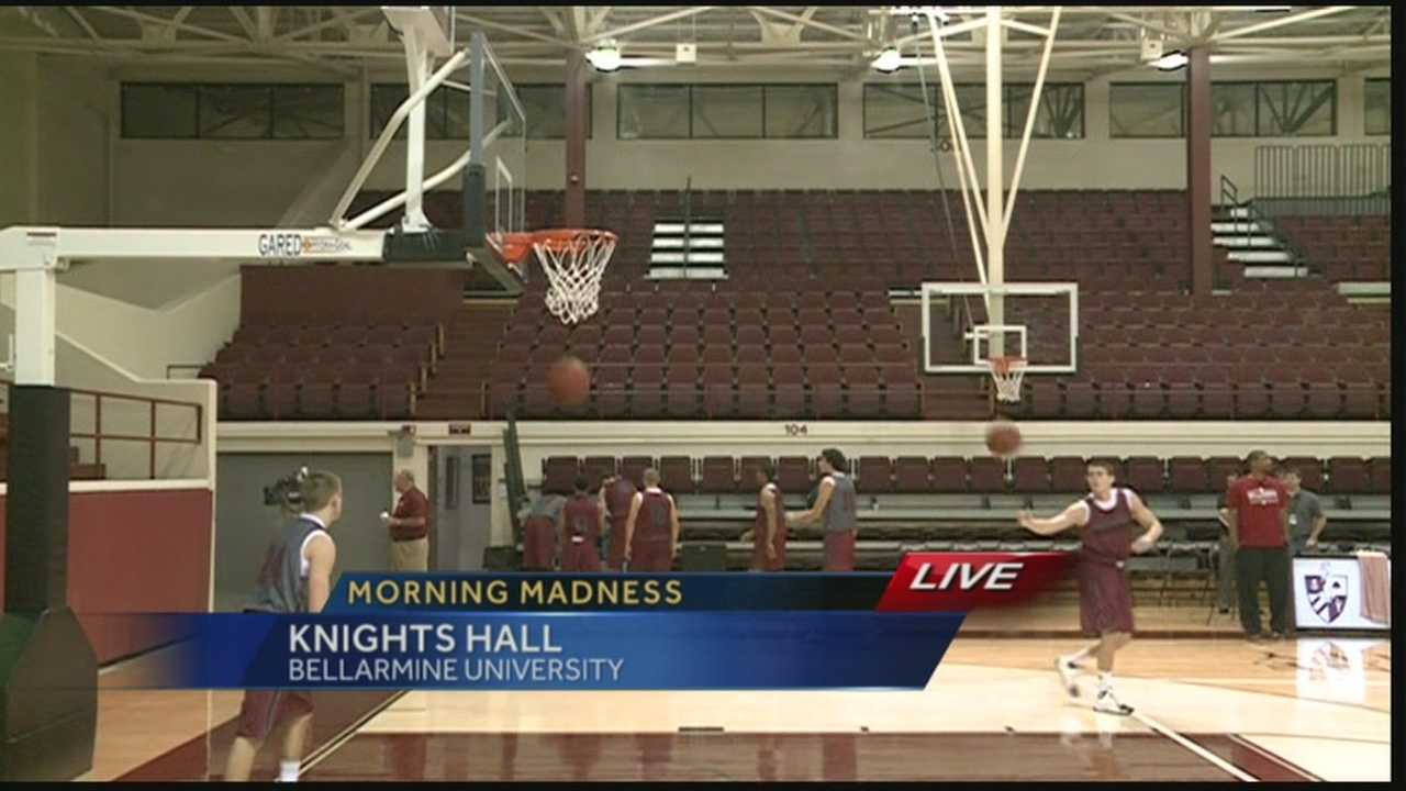 Bellarmine Knights hit newly renovated court for morning madness