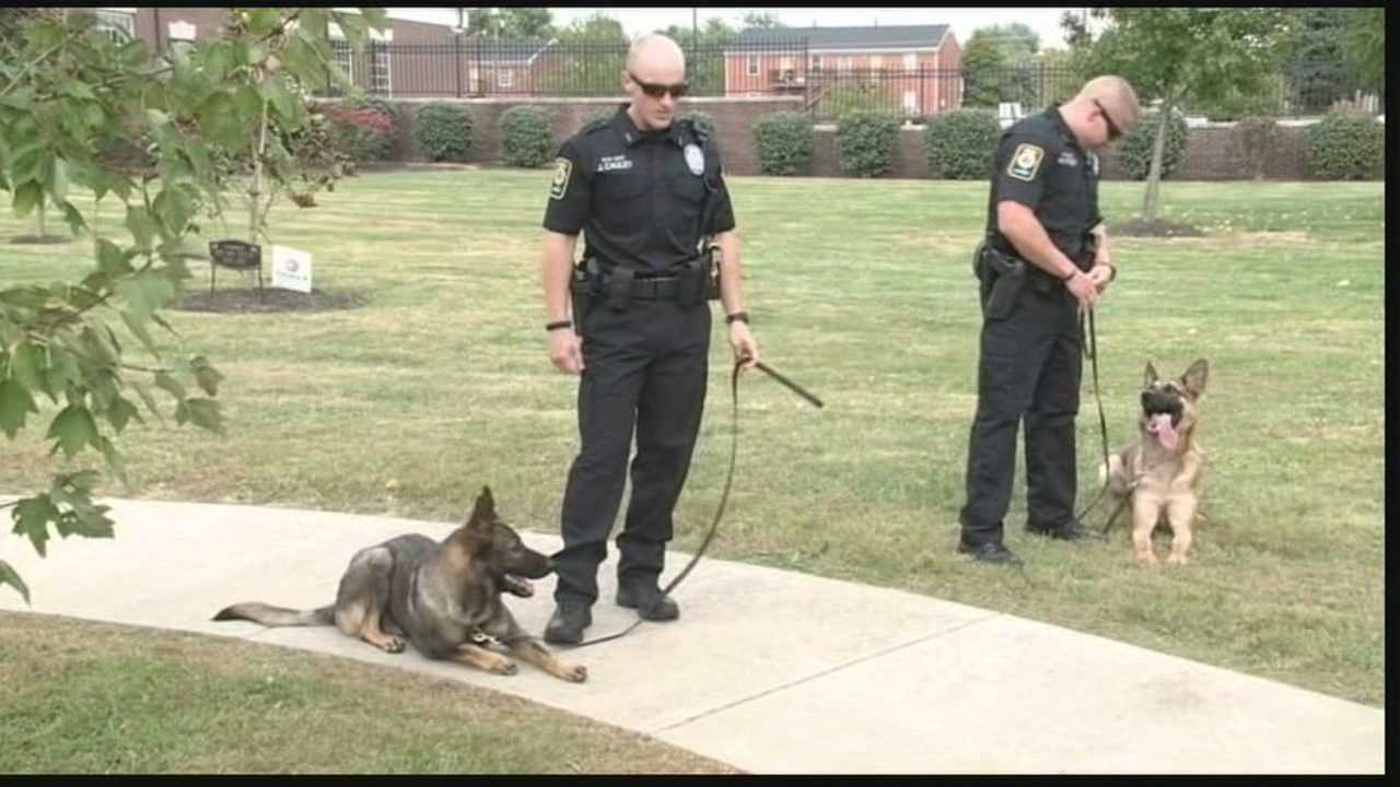 New K-9 officers introduced at Bardstown Police Department