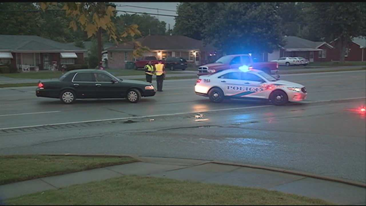 A woman was injured after being struck by a vehicle on Dixie Highway.