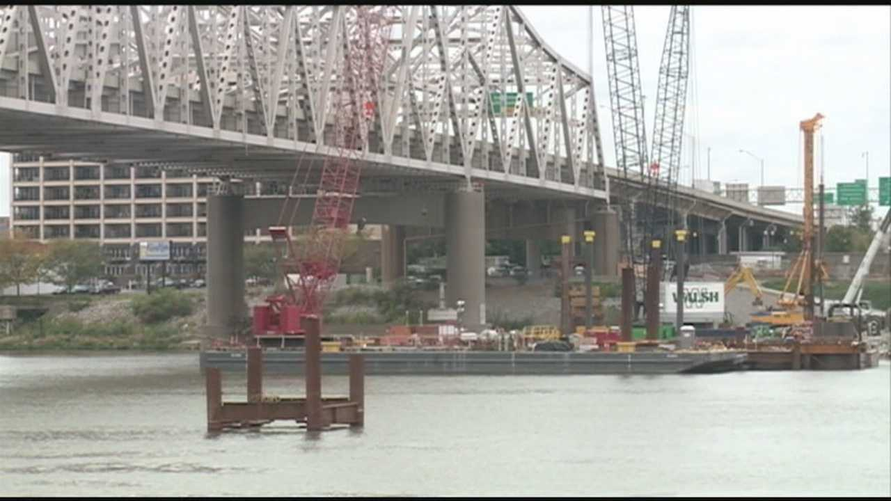 Some downtown residents are being kept awake by construction noise from the Ohio River Bridges Project.
