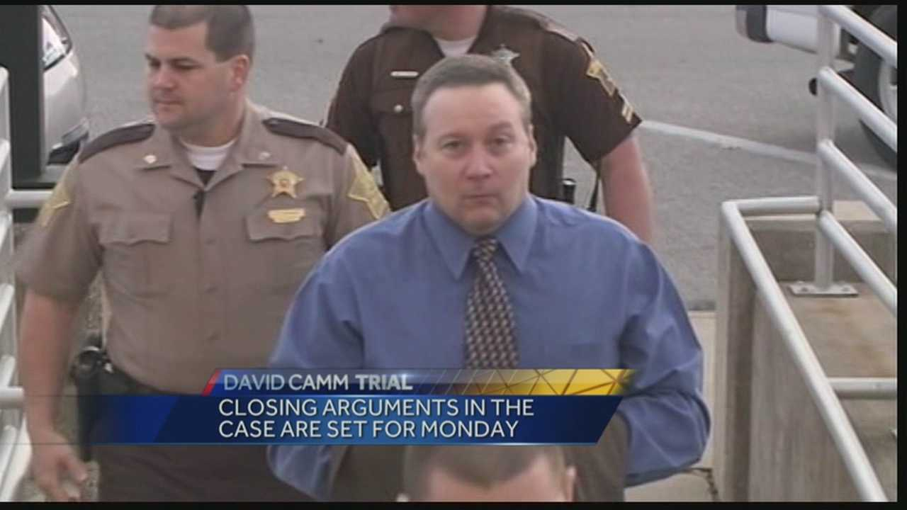 Closing arguments are set to begin Monday in David Camm's third murder trail.