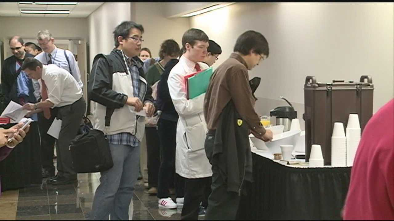 The University of Louisville medical staff stressed the importance of flu vaccinations and got their yearly shots Thursday.
