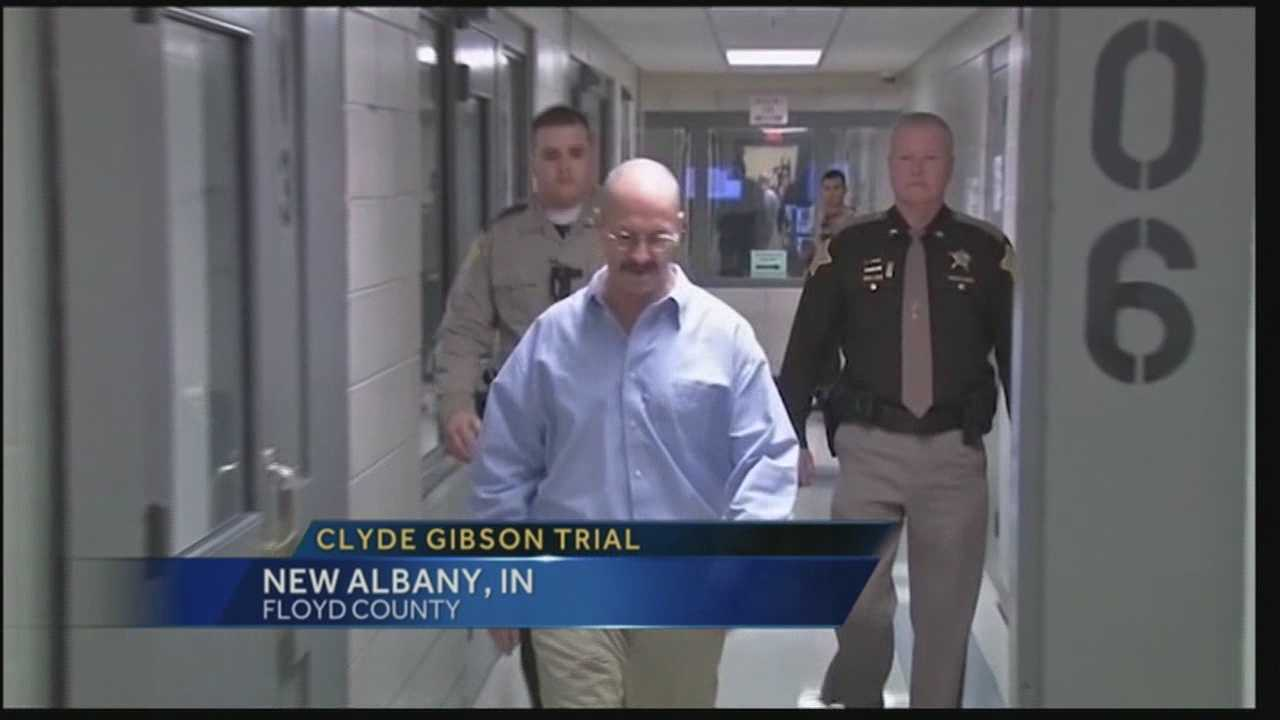William Clyde Gibson is accused of brutally killing 74-year-old Christine Whitis last year.