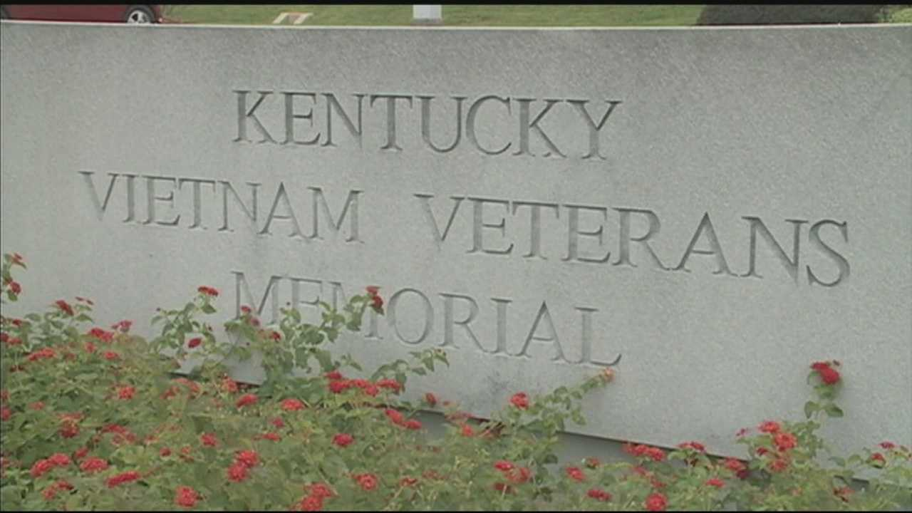 Families gathered at the Kentucky Vietnam Veterans Memorial on Wednesday to remember lost loved ones.