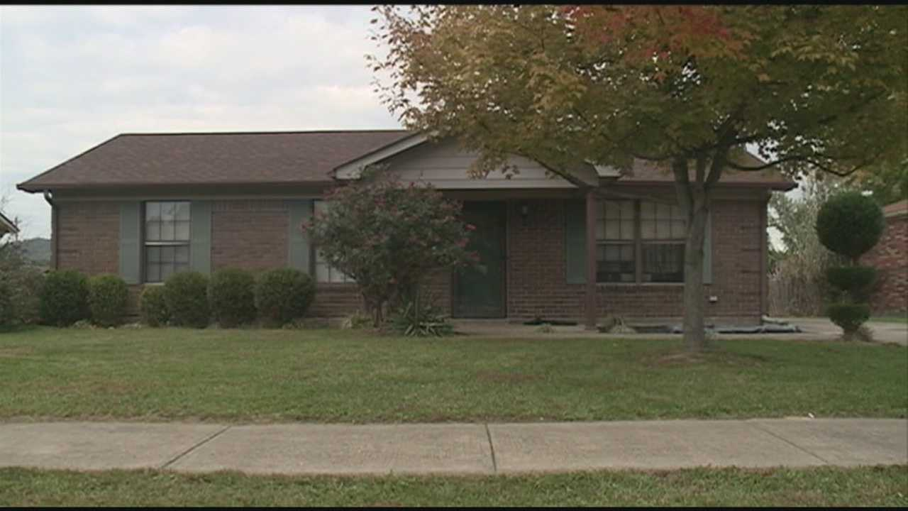 A woman was injured in a home invasion.