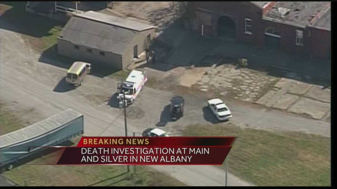 A death investigation is underway in New Albany, Ind.
