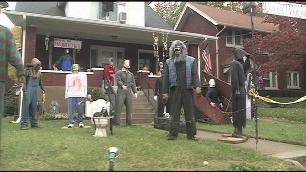 Hillcrest Ave. residents ready for Halloween visitors