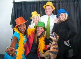 Mixing it up at the Harbor House Ken-Ducky Derby fundraising gala
