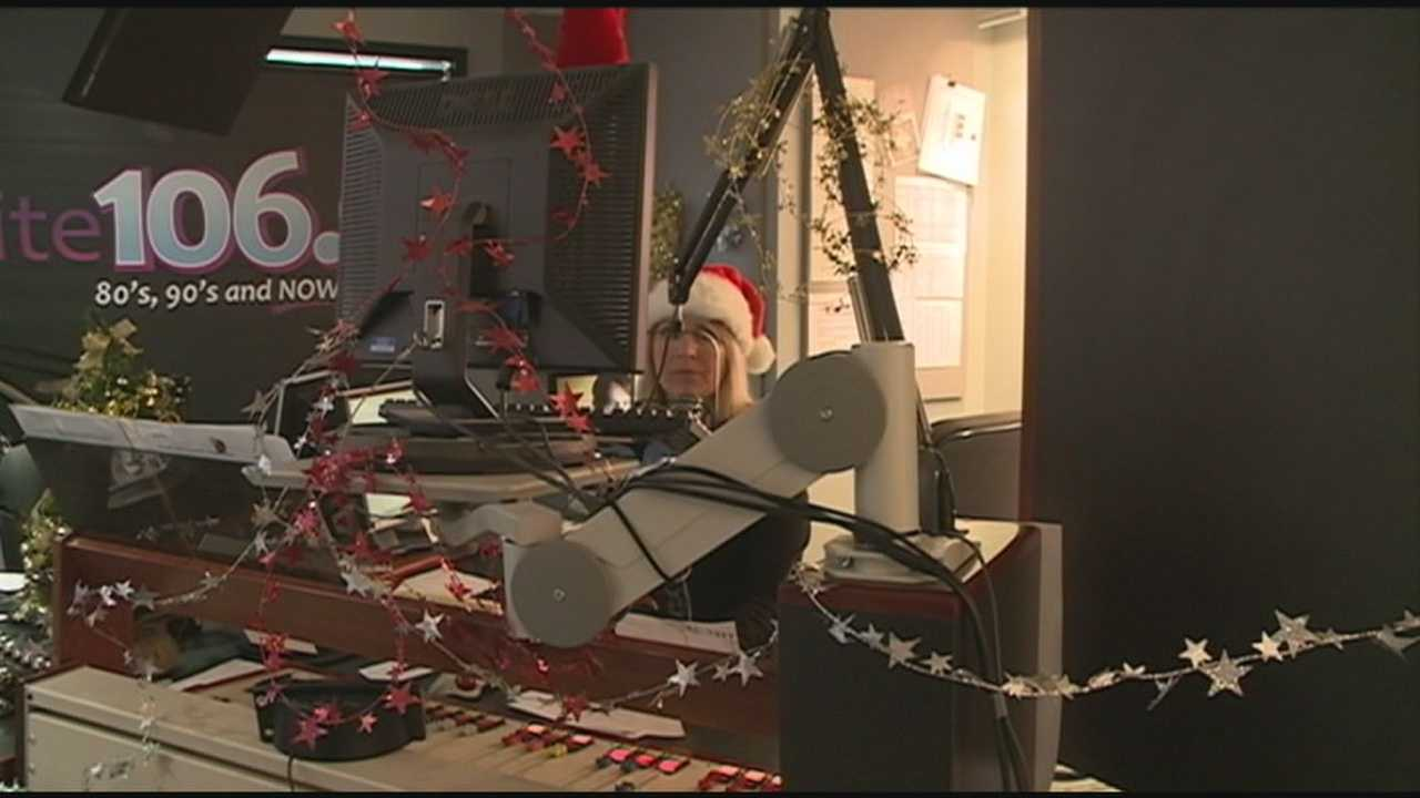 A local radio station has been playing nonstop Christmas music since Nov. 1.