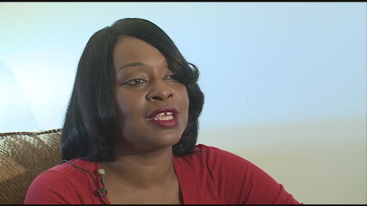 A woman who was the victim of a nightclub shooting is speaking up to help end violence.