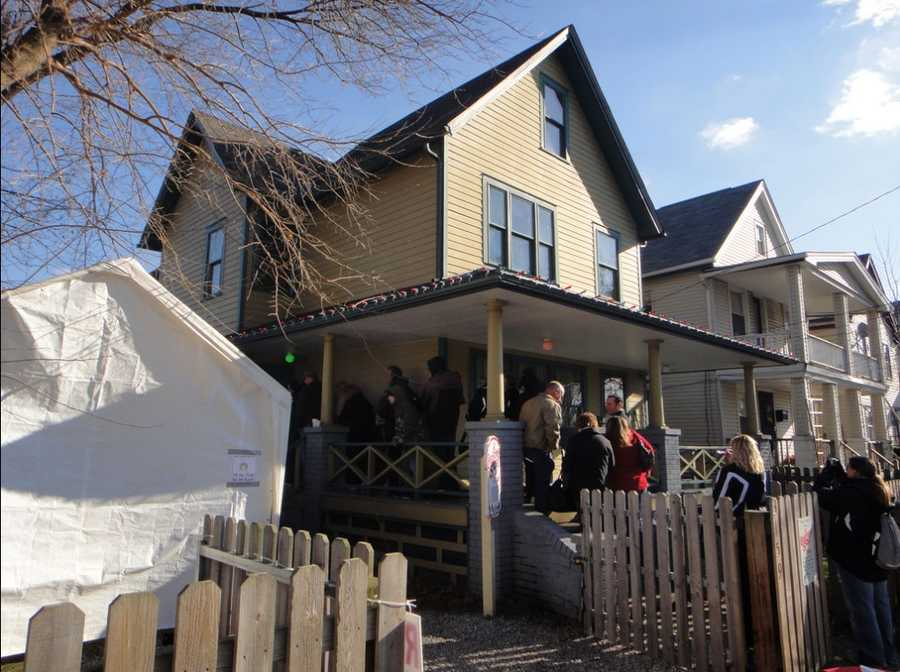 """In Cleveland, there sits a house that will be familiar to anyone who has seen """"A Christmas Story."""" The house now operates as a museum."""