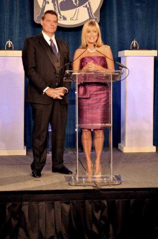 Rick and Vicki at Bell Awards 2012