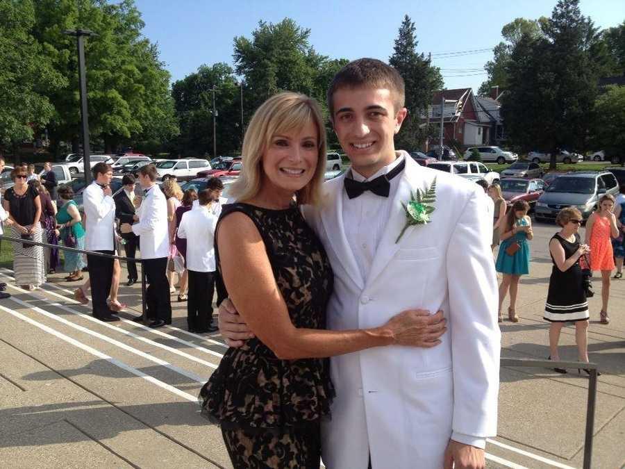 Vicki and her son, Jonathan.