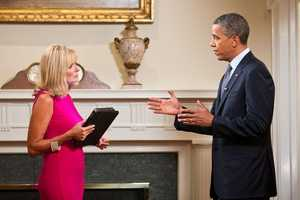Vicki was the only Louisville journalist to interview President Barack Obama in the summer of 2012.