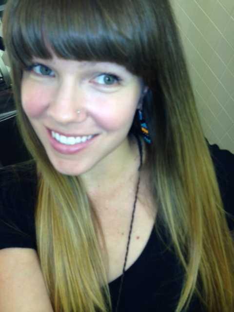 Digital Editor JJ Dixon is all smiles in her selfie