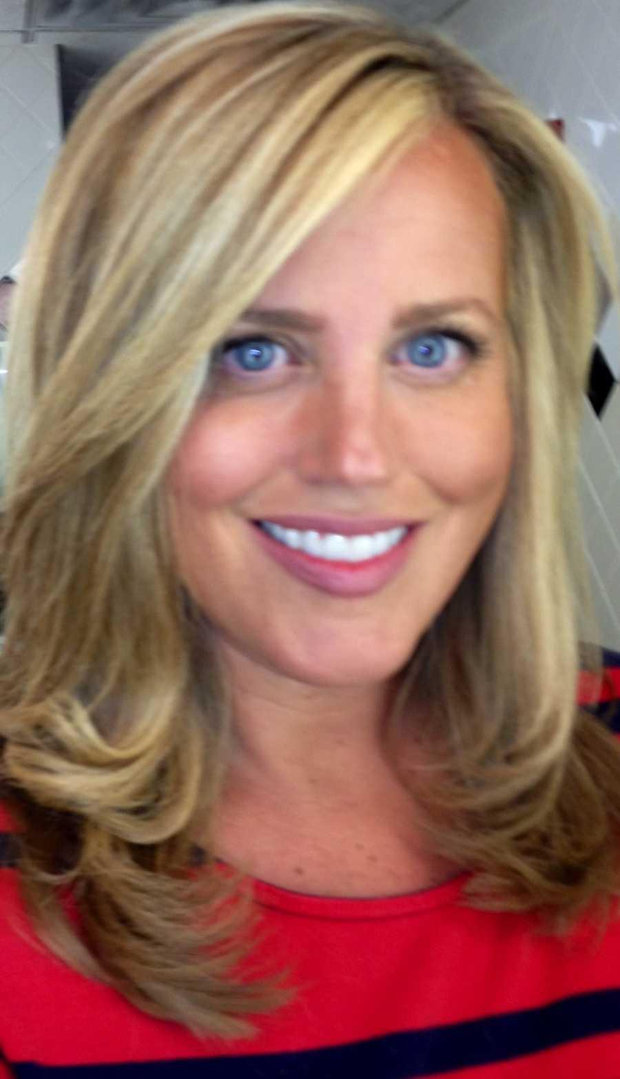 Meteorologist Susanne Horgan's hair is just perfect in her selfie