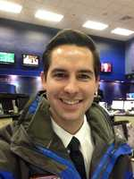 Reporter Drew Douglas is happy to share this Tuesday selfie