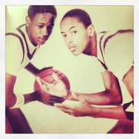 Master P and younger brother, the late Kevin Miller.