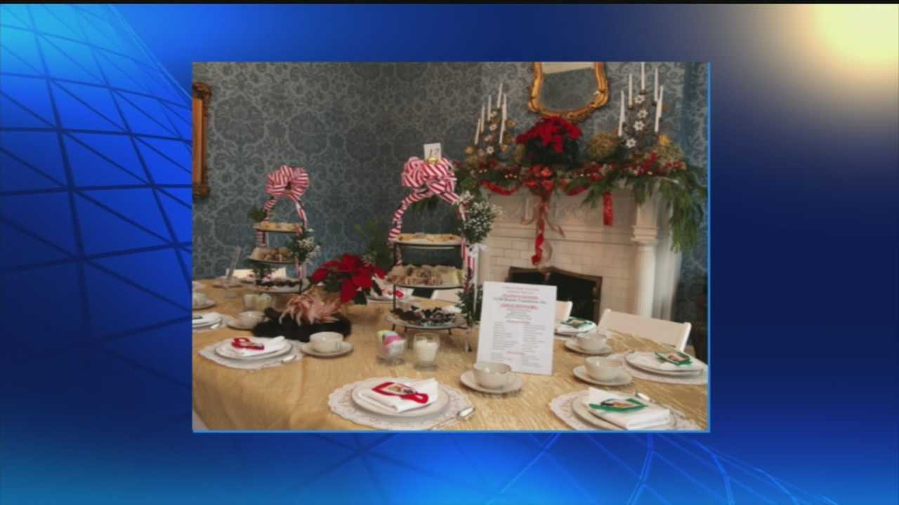 Whitehall House and Gardens is hosting a Christmas tea party on Dec. 6.