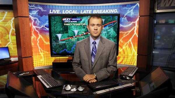 This photo was taken by the Evening News as part of a March 2nd tornado outbreak story.