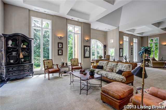 Spectacular floor-to-ceiling windows.