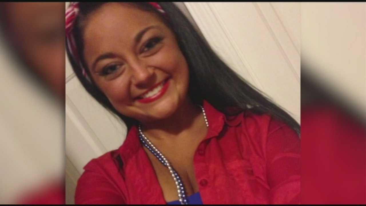 Kendall Daub, 19, was killed Monday night when the car she was riding in was involved in a crash at Kenton Street and South Third Street.