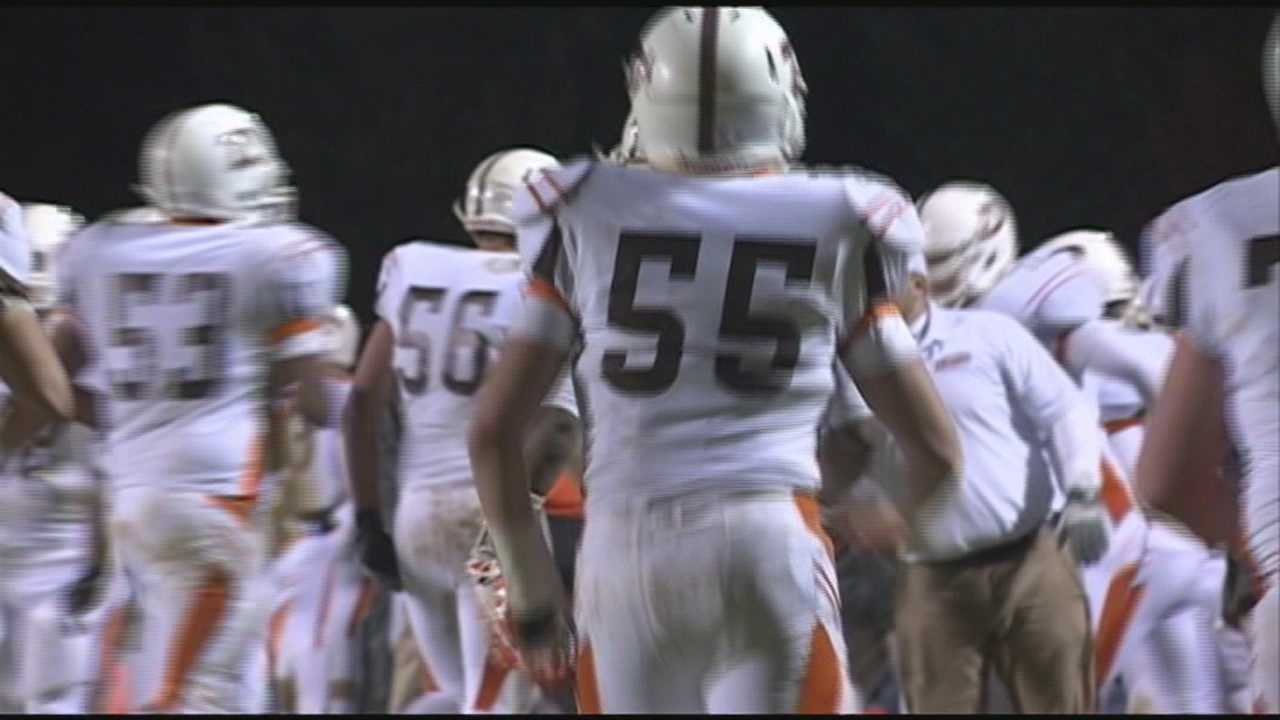 The DeSales High School football team is preparing for its state championship game.