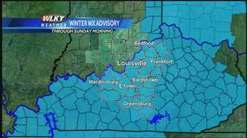 WLKY Chief Meteorologist Jay Cardosi has your late Saturday and early morning Sunday forecast as another wintry blast takes aim at the region. Click to watch the video