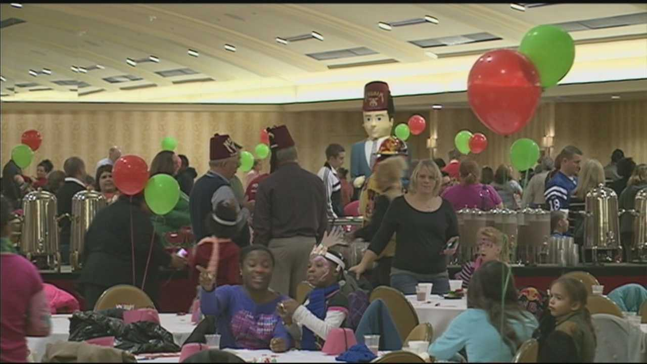 The 16th annual Kosair Holiday Party provides fun and festivities for special needs and disadvantaged children.