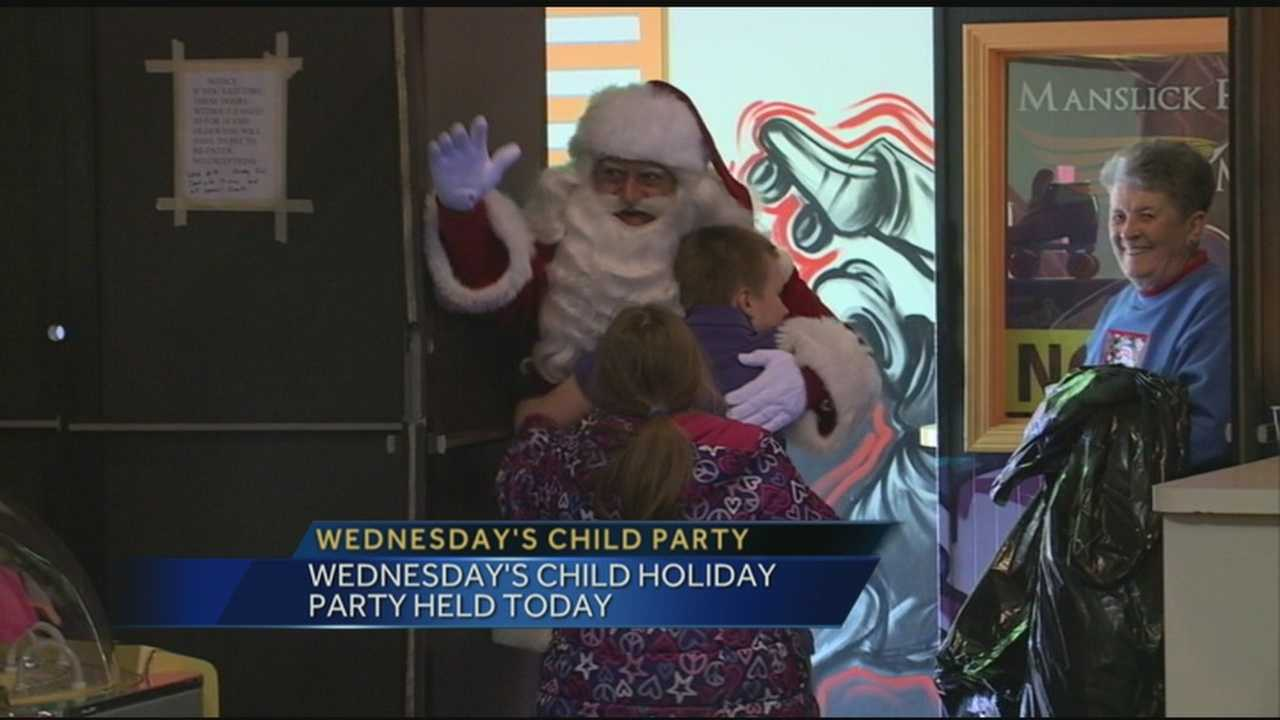 The Wednesday's Child Holiday Party was held Wednesday afternoon.