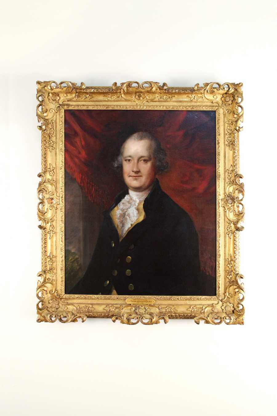 This is a painting of the 12th Earl of Derby by Gainsborough Dupont, nephew of renowned artist Thomas Gainsborough. In 1780, the Earl founded England's Epsom Derby, namesake of the Kentucky Derby.