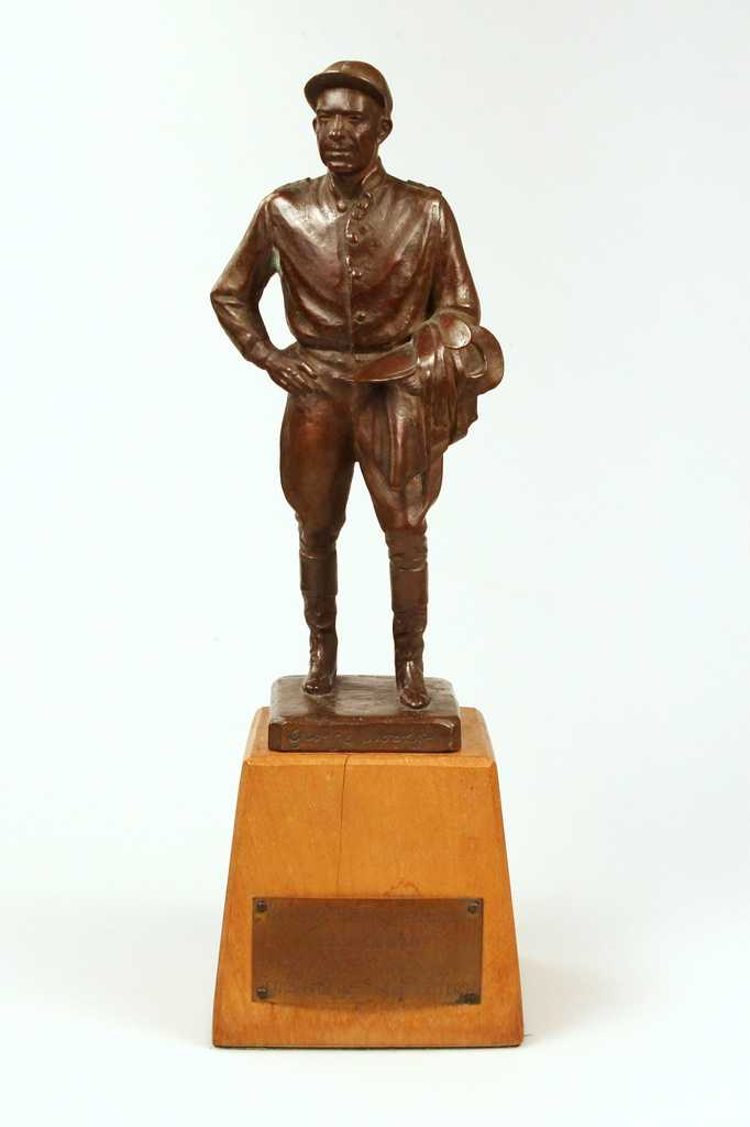 Legendary jockey Bill Shoemaker received the George Woolf Award in 1951. Named in honor of jockey George Woolf, the award recognizes jockeys that exhibit the highest level of character. Jockeys are selected by a vote of their peers.