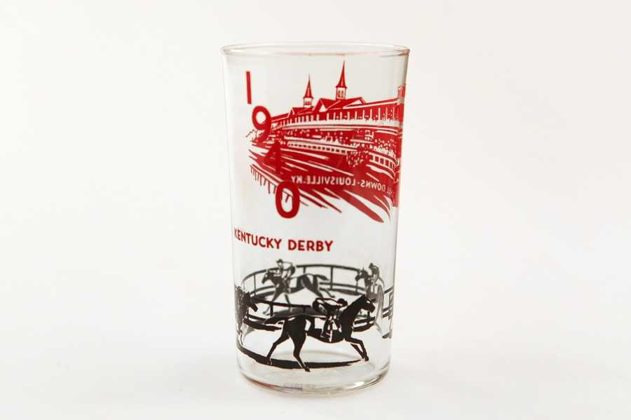 This 1940 official mint julep glass is recognized as one of the rarest since the inception of the collectible in 1938.