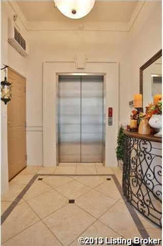A private commercial grade elevator which open up directly into the foyer.