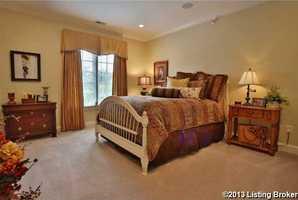 Large windows in each bedroom.